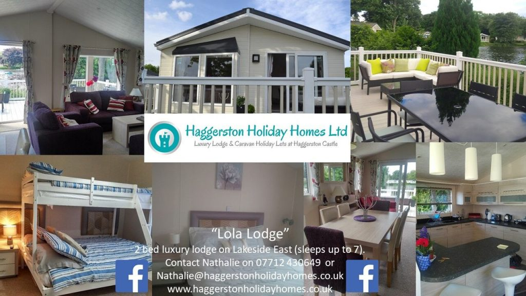Haggerston lodge hire